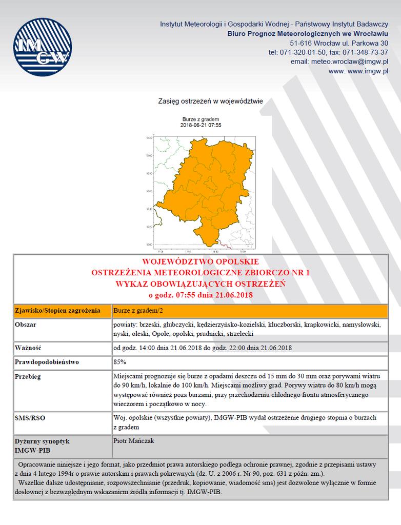Ostrzeżenie meteorologiczne 2018-06-21.png