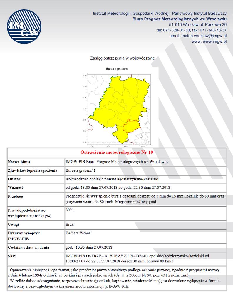 Ostrzeżenie meteorologiczne 2018-07-27 Nr 10.png