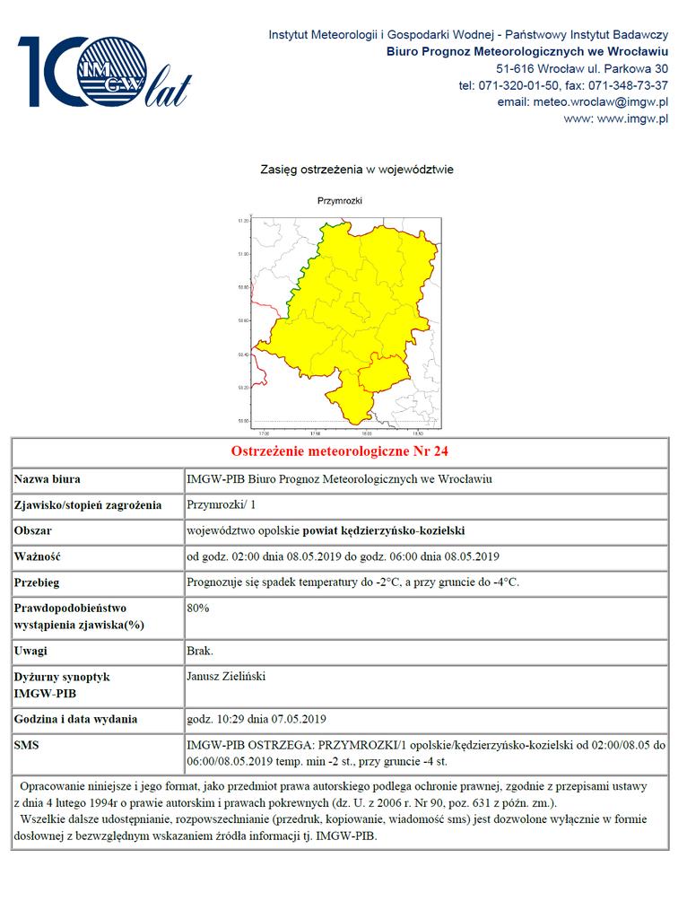 Ostrzeżenie meteorologiczne nr 24 z 7.05.2019.png