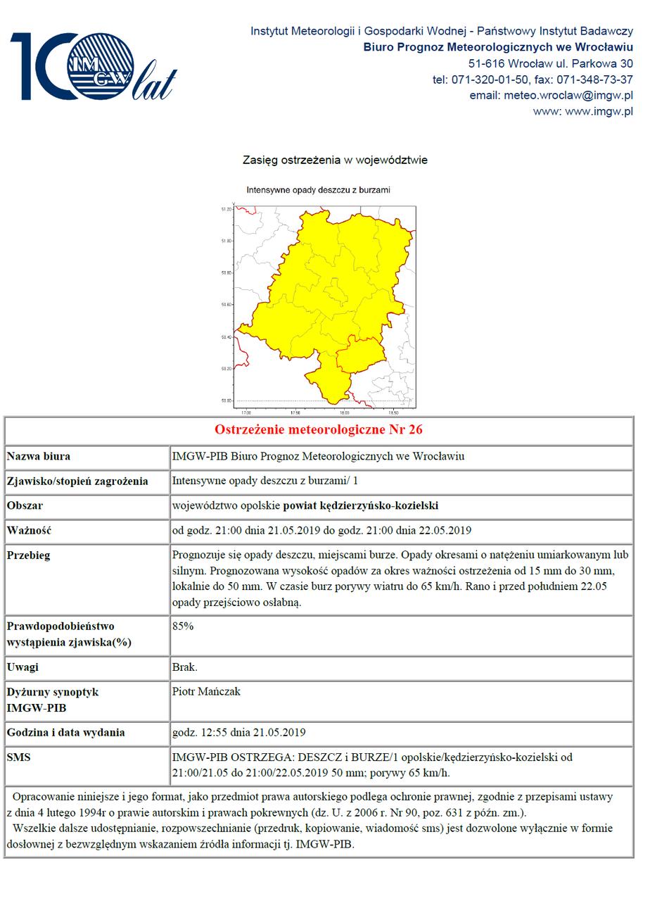 Ostrzeżenie meteorologiczne nr 26 z 21.05.2019.png