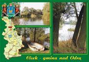 Jedna z 18 widokówek o gminie Cisek