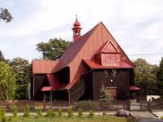 Drewniany kościół filialny p.w. Trójcy Świętej