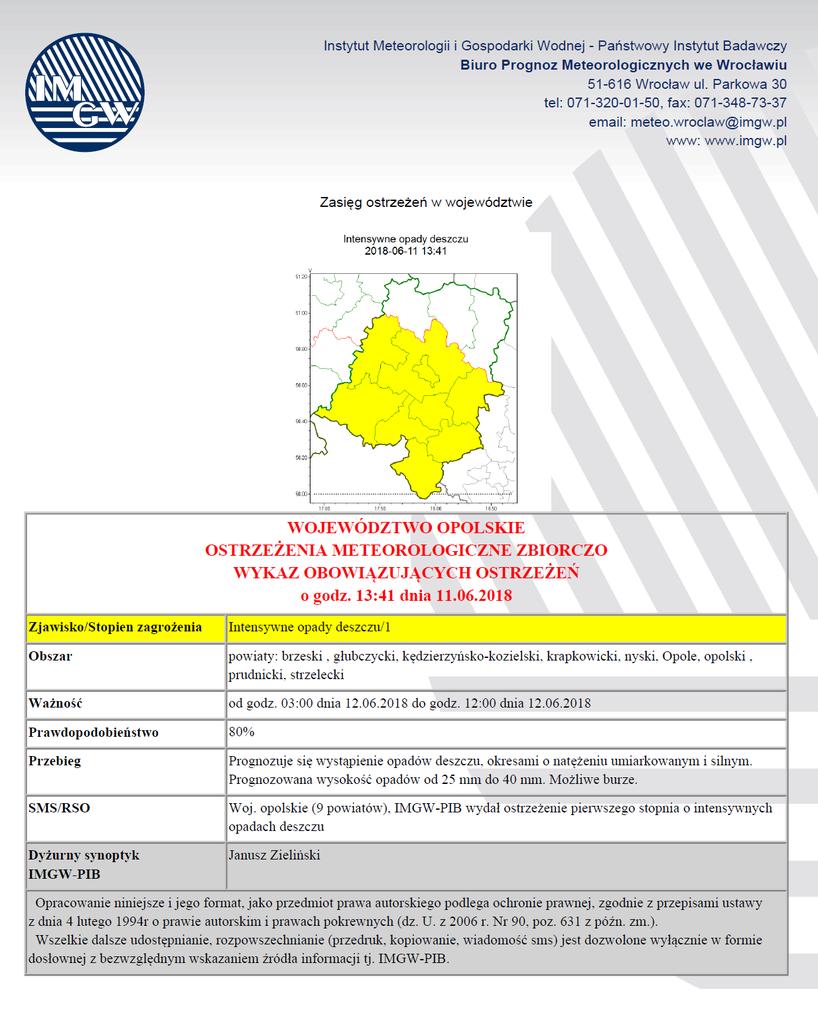 Ostrzeżenie meteorologiczne 2018-06-11.png