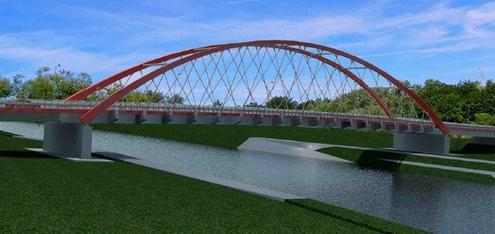 Nowy most Cisek-Bierawa
