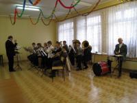 Przygrywała Gminna Orkiestra Dęta