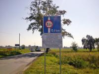 Zakaz wjazdu pojazdów powyżej 3,5t na most Cisek - Bierawa