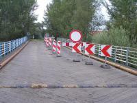Wjazd na most od Cisku