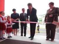 Otwarcie nowego przedszkola w Cisku. Zdjęcie:www.radiopark.com.pl