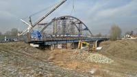 Budowa nowego mostu Cisek - Bierawa