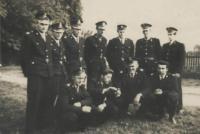 Członkowie OSP Przewóz z lat 70-tych
