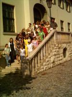 Uczniowie z naszej gminy z wizytą w Rathaus-ie Gminy Breitungen