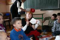 Galeria Młodzi ratownicy z II LO K-Koźle w PSP Landzmierz